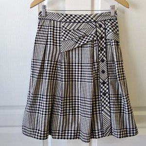 Odille Weave the Ring Gingham Skirt Size 2
